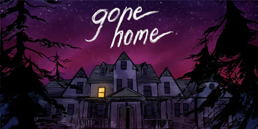 Cover art for Gone Home, now available on Steam