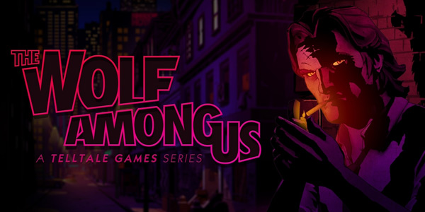 The Wolf Among Us title
